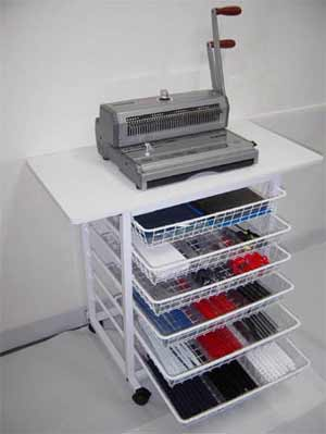 Binding Work Station Excellent For Organizing Binding