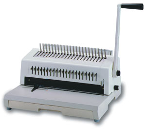 Tamerica TCC-213 comb and wire binding machine manual paper punch and binding