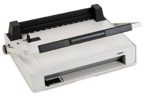 GBC V800 Pro velobind machine manual paper punch manually binds up to 250 sheets