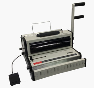 Tamerica Opticombo-341 coil and wire binding machine electric coil inserting manual wire closer