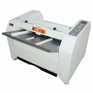 Akiles Booklet Mac Booklet Maker folds and staples 16 sheets at a time multi function 2 stapler heads  LCD counter display